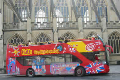 Bath Hop On Hop Off Sightseeing Bus