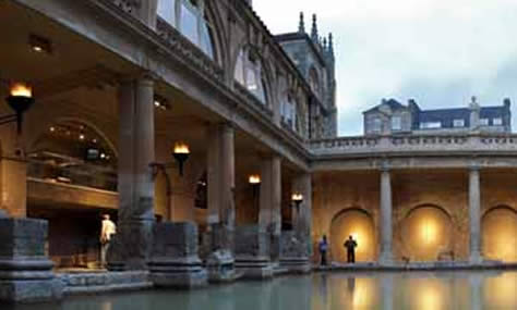 The Roman Baths at Bath