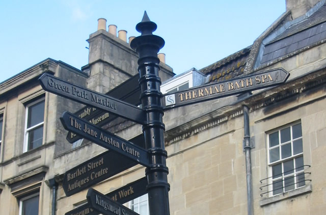 Bath City Centre Directions