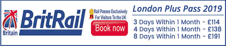BritRail London Plus Train Pass