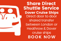 Shared Taxi Transfers To/From Dover Cruise Ships