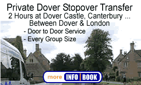 Private Car & Van Stopover Transfers Dover & London