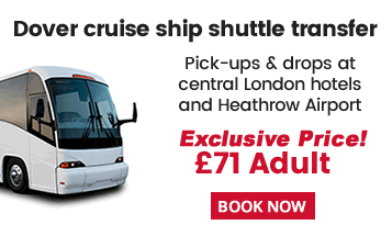 Dover Cruise Shuttle Bus From London