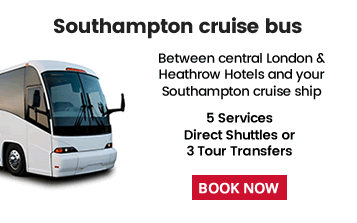 Southampton Cruise Shuttle Bus To/From London