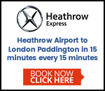 Heathrow Express Airport Train To London