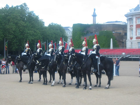 Changing of the Guard at Horseguards