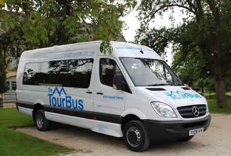Private 16 Seat Touring Bus From London