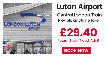 Luton Airport - London Train Tickets