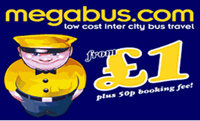 Megabus Low Cost Coach Tickets