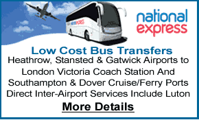 National Express Bus Services Between & To London's 4 major airports