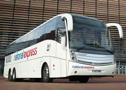 National Express Gatwick - Luton Airport Bus