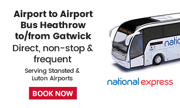 National Express Bus Service Heathrow & Gatwick Airport