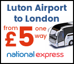 National Express Bus Service Central London & Luton Airport