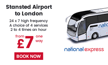 National Express Bus Service Central London & Stansted Airport