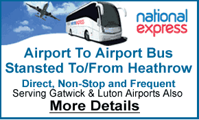 National Express Bus Service Heathrow & Stansted Airport