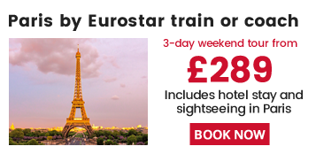 3 Day Weekend Tour To Paris From London