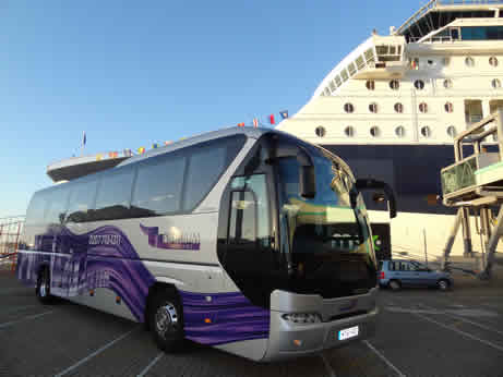 Cruise Shuttle Bus To/From London