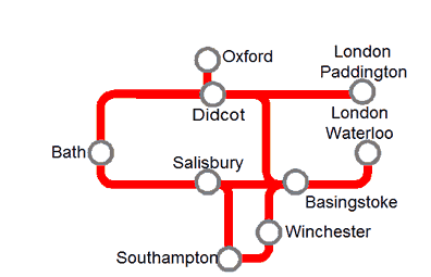 Salisbury Rail Map