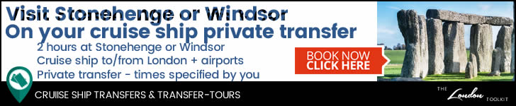 Visit Stonehenge or Windsor on your transfer to/from your Southampton Cruise Ship