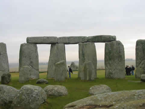 Inside The Stone Circle At Special Access Stonehenge