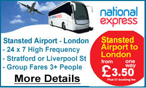 Terravision London Stansted Airport Bus Services