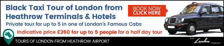 London Black Taxi Tours From Heathrow Airport
