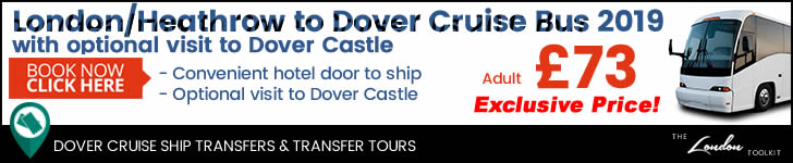 Dover Cruise Ship Shuttle Service Prices & Ticketing