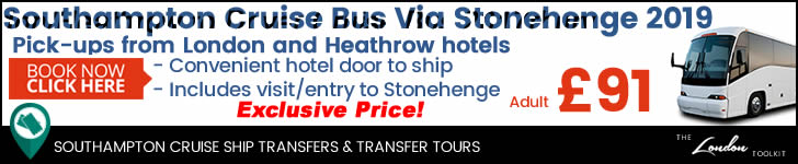 Southampton Cruise Ship Shuttle Service Prices & Ticketing