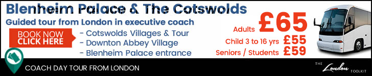 The Cotswolds & Blenheim Palace  Tour Tickets