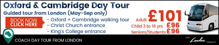 Oxford & Cambridge  Day Tour Tickets