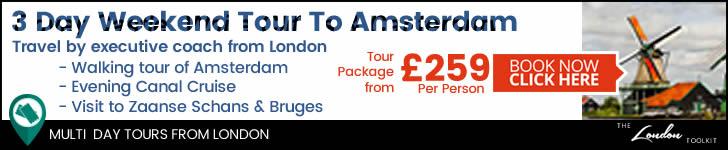 Weekend 3 Day Short Break By Coach To Amsterdam Tour Ticketing