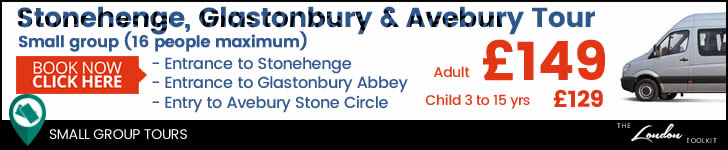 Small Group Stonehenge, Glastonbury & Avebury Day Tour From London Ticketing
