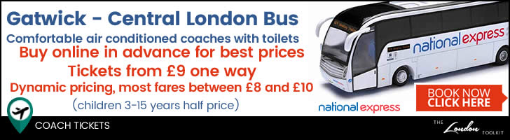 Gatwick - Central London Airport Coach Services