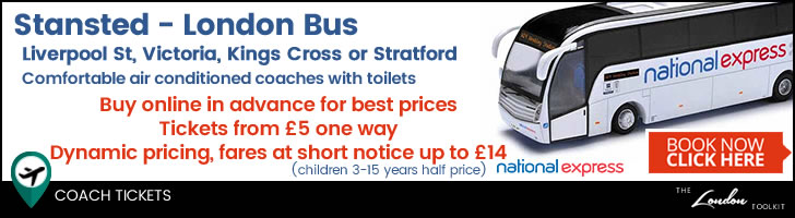 Stansted - Central London Airport Coach Services