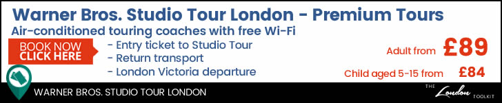 Harry Pootter Studio Tour From London Tickets