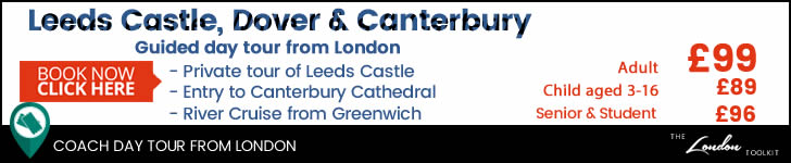 Leeds Castle, Dover and Canterbury  Day Tour From London Ticketing