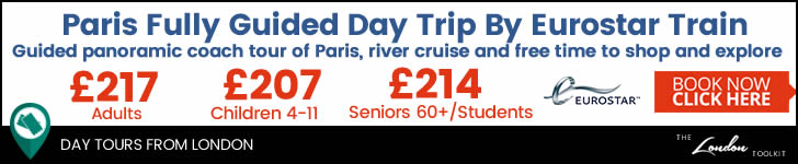 One Day Trip From London To Paris Eurostar