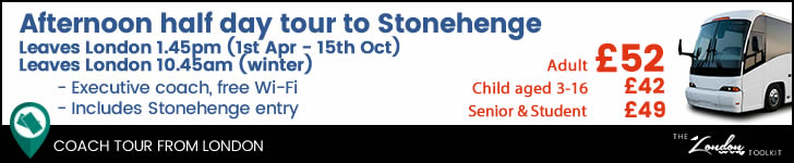 Afternoon Tour To Stonehenge From London Ticketing