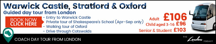 Warwick Castle, Stratford  & Oxford  Day Tour From London Ticketing