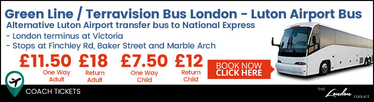 Green Line Luton Airport Bus Tickets