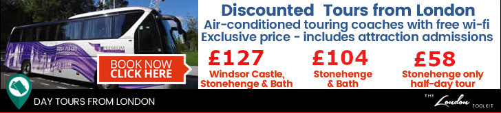Special Offer Day Tours From London