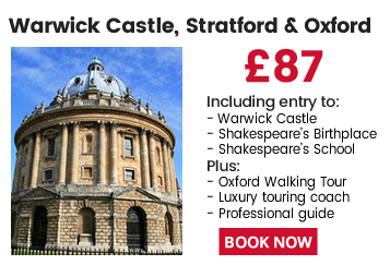 Oxford, Stratford & Warwick Castle Day Tour From London