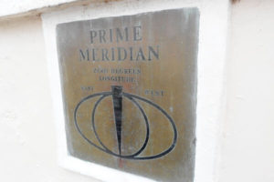 Prime Meridian plaque, Park Vista, Greenwich, London