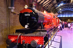 Hogwarts Express at Warner Bros Studio Tour London