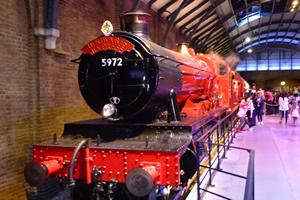Hogwarts Express and Warner Bros Studio Tour London