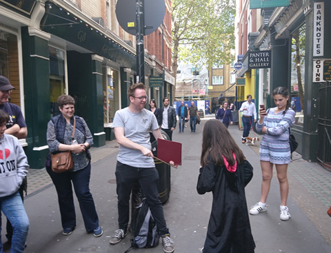 Walking Touor for Muggles Cecil Court