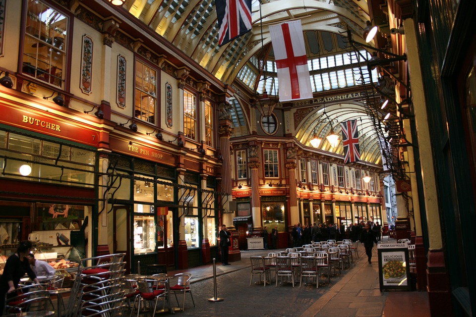 Leadenhall Market London - Diagon Alley!