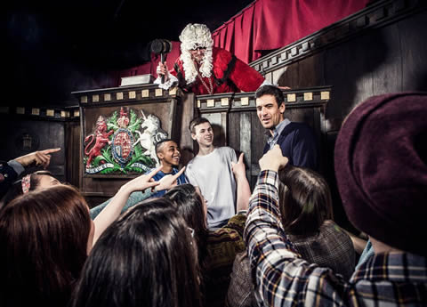 London Dungeon - great for families!