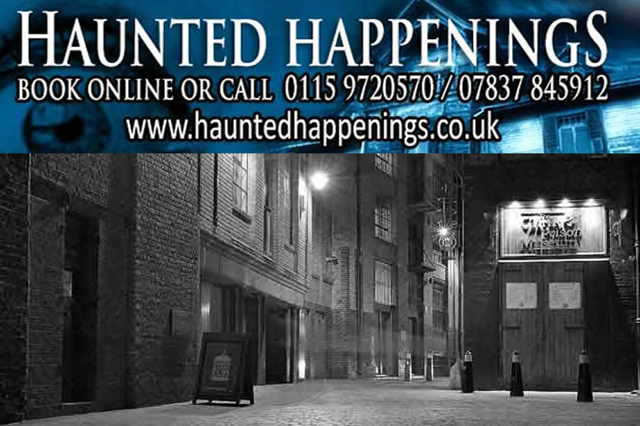 Haunted Happenings walks London