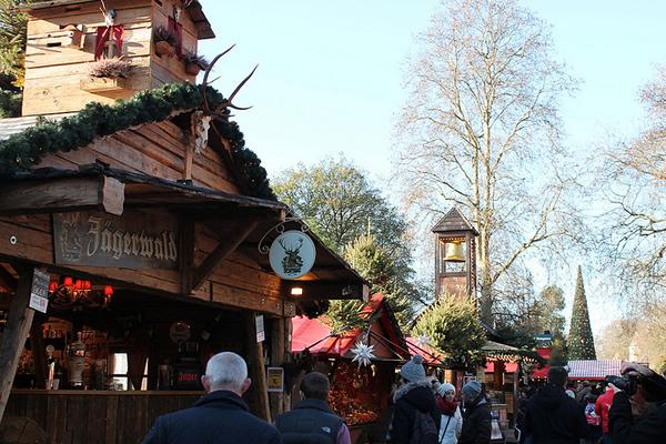 Winter Wonderland Christmas Market in London Hyde Park
